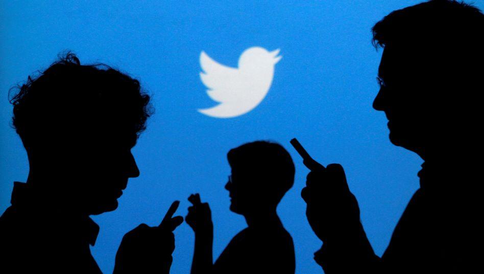 Twitter-Kunden können sich umsonst austauschen. Mit den Werbeerlösen allein aber kommt das Unternehmen nicht in die Gewinnzonne