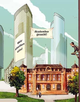 Engpass: Deutschland verliert hoch produktive Potenziale weil die heimischen Hirnkapazitäten beklemmend eng sind