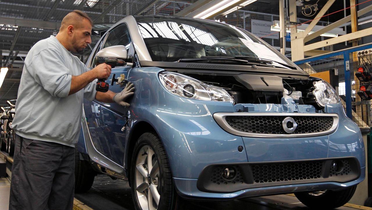 Daimler schließt Stammwerk in Hambach: Smart Exit - manager magazin - Unternehmen