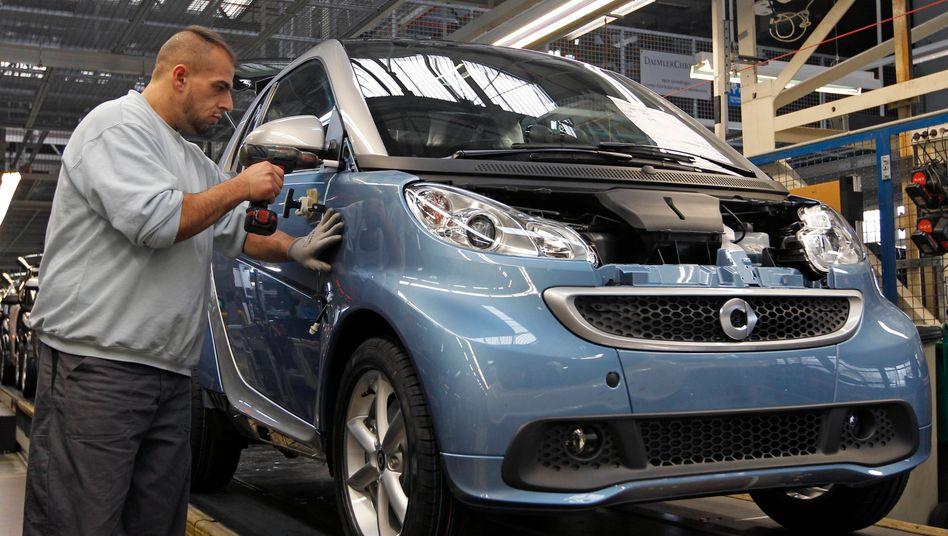 Abschied vom Stammwerk: Das Smart-Werk in Hambach wird verkauft, Daimler verlagert die Produktion nach China