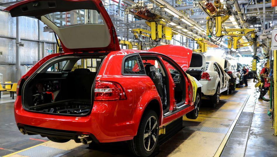 General Motors zieht sich aus Australien, Neuseeland und Thailand zurück. Bisher wurden die Autos der Marke Holden in Adelaide produziert.
