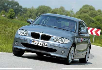 Mit dem Golf-Jäger die Rekordmarke gebrochen: Der BMW 1er, das erste Volumenmodell mit Hinterradantrieb in seiner Klasse