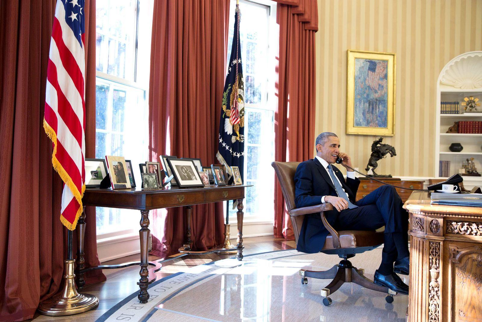 Obama/Telefon