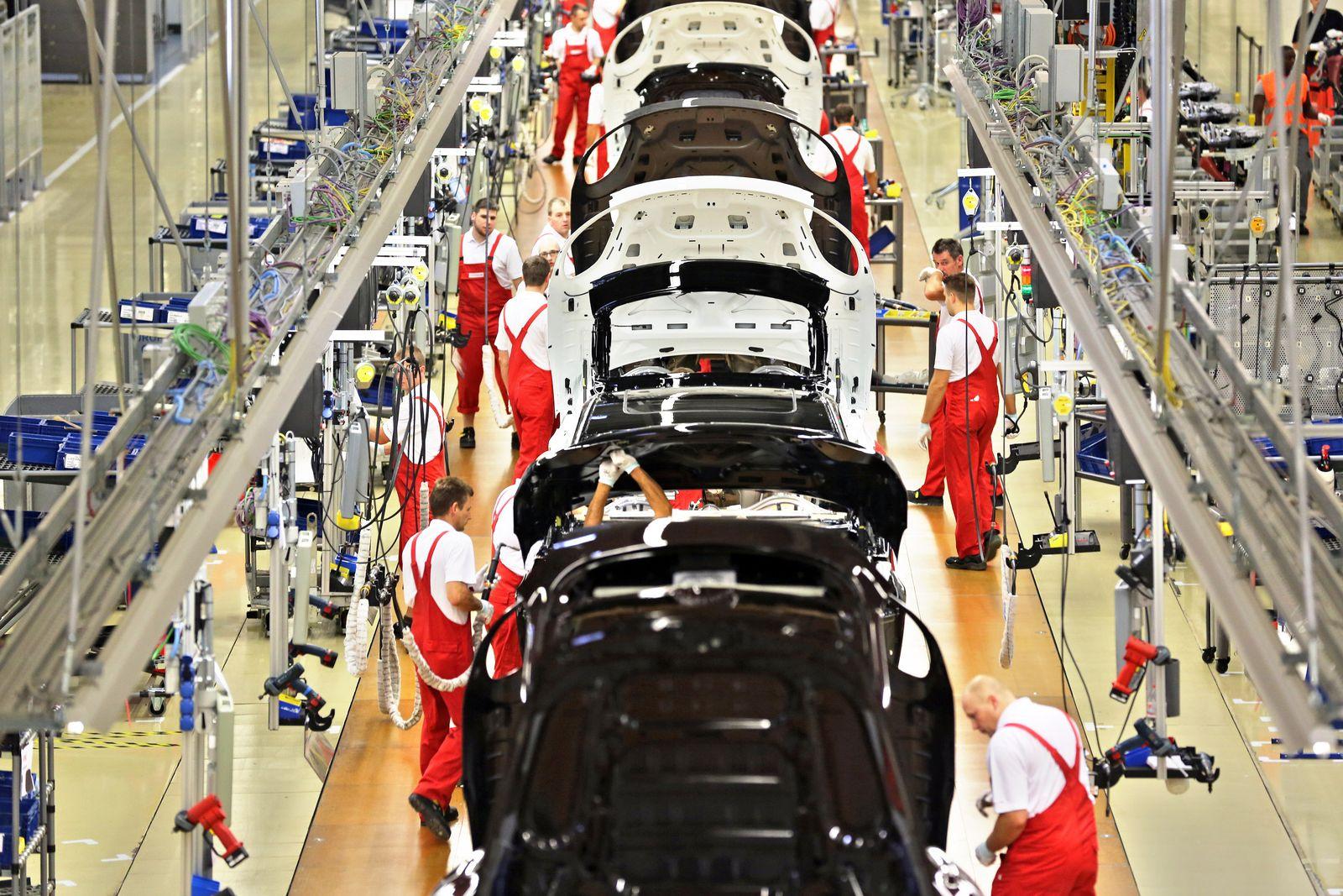 Porsche-Werk - Produktion