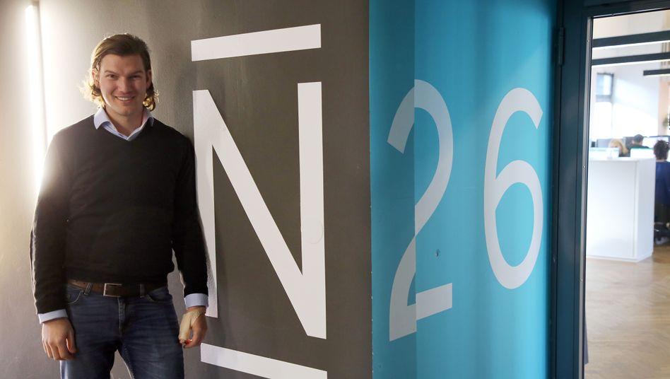 Valentin Stalf, Gründer der Bank N26 aus Berlin