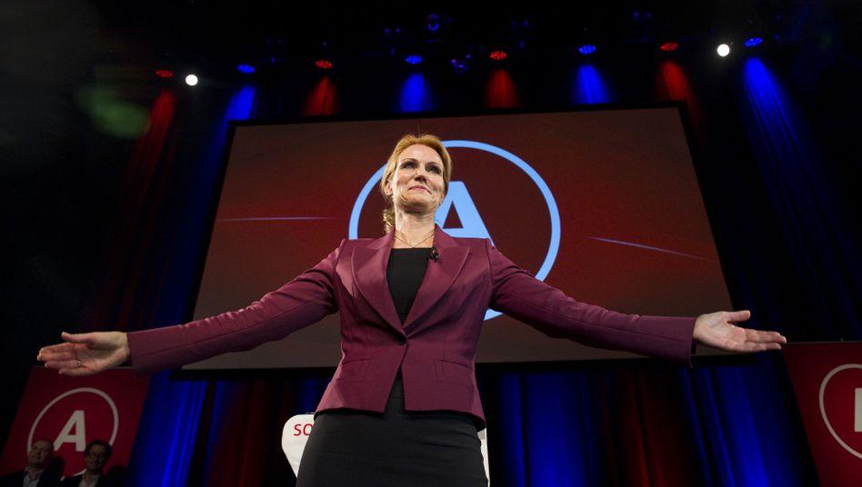 Thorning-Schmidt: Die 44-Jährige hat ihre Machtübernahme vor allem den kleineren Parteien zu verdanken, da die Sozialdemokraten selbst nur zweitstärkste Partei wurden