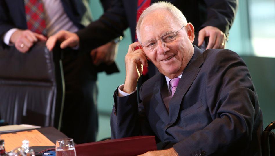 """Finanzminister Wolfgang Schäuble: """"Jahrzehntelanges Versagen"""" der griechischen Eliten"""