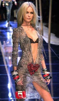 Schlange überall: Dolce&Gabbana