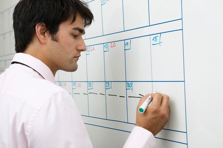 Planung ist das A und O: Antworten Sie stets erst nach einer Woche