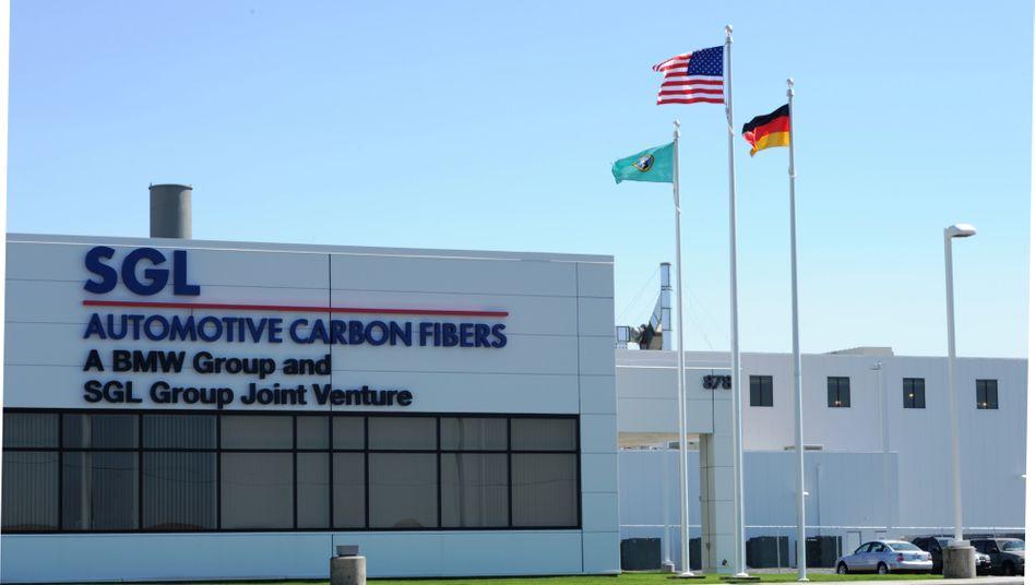 Gemeinschaftswerk: Kohlefaserwerk von SGL und BMW in den USA