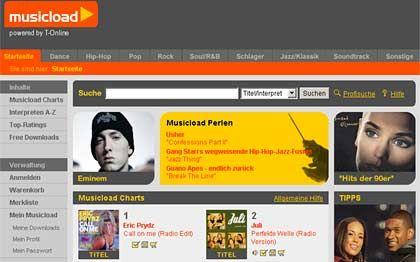 T-Online: Musicload will künftig verstärkt Independetmusik von Künstlern wie Max Herre und Freundeskreis anbieten