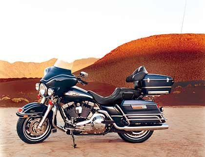 Weniger gefragt: Maschinen von Harley-Davidson