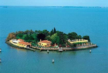 Insel Tessera/Venedig (Italien): Größe: 8.000 Quadratmeter, Kaufpreis: 4,5 Millionen US-Dollar.