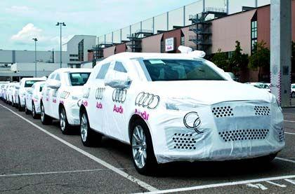 Fertig für den Export: Die deutschen Hersteller führen wieder mehr Autos aus