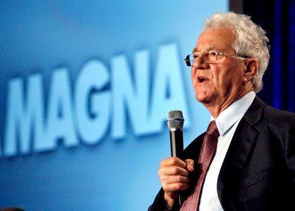Konkurrent seiner Kunden: Magna-Gründer Frank Stronach