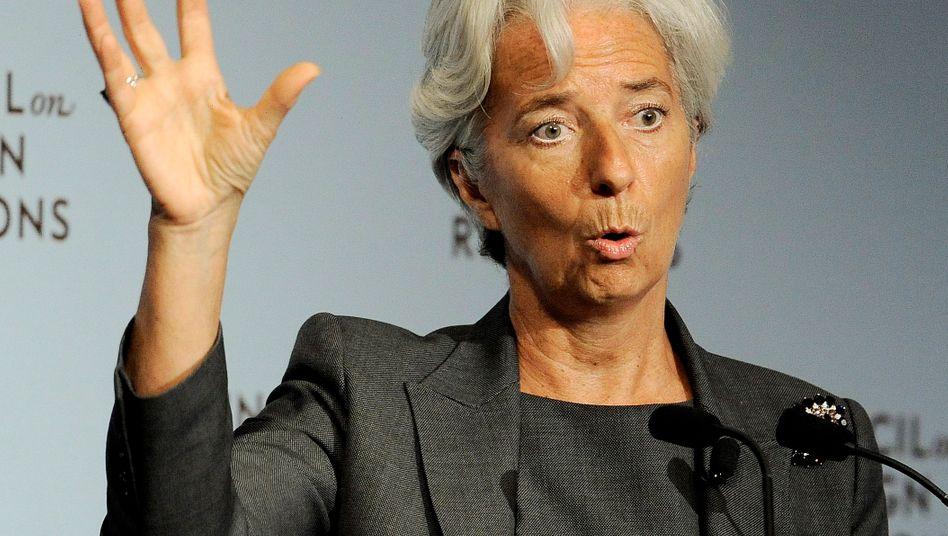 """""""Abwärtsspirale aus Ungewissheit, finanzieller Instabilität und dem Zusammenbruch der globalen Nachfrage"""": IWF-Chefin Lagarde macht sich Sorgen"""