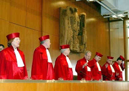 """Bundesverfassungsgericht in Karlsruhe: """"Wichtiger Punkt in Überlegungen"""""""