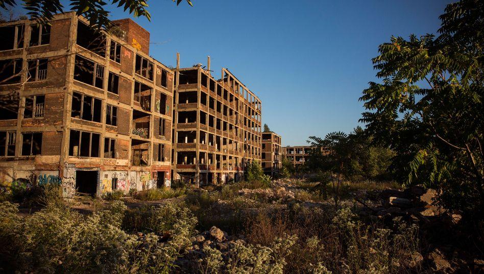 Ruinen in Detroit: Viele Bewohner des mittleren Westens fühlen sich abgehängt