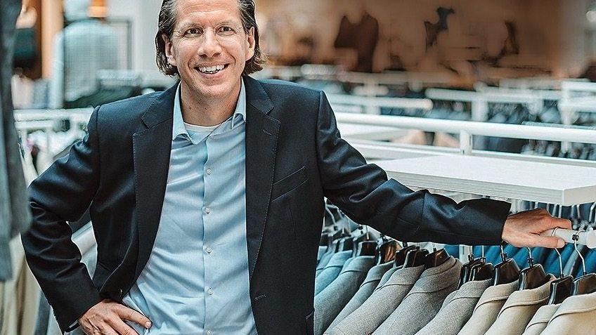 LAST MAN STANDING Deutschland-Chef Eric A. Brenninkmeijer