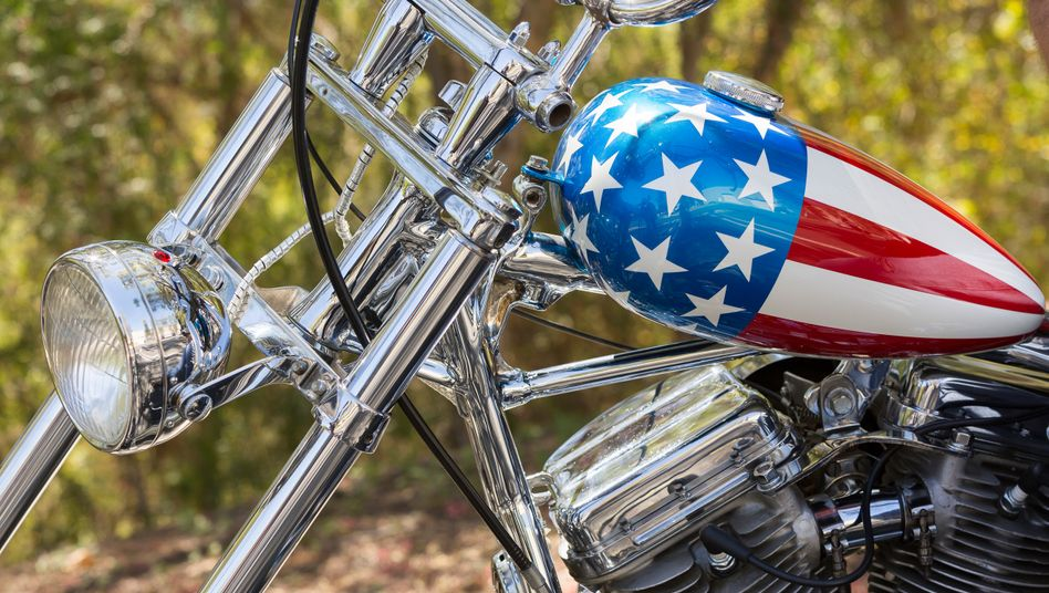 Harley Davidson: Die Marke steht für ein Stück US-amerikanischer Identität und auch auf einer Liste von Produkten aus den USA, die die EU im Falle eines Handelskriegs gezielt mit hohen Zöllen belegen würde.