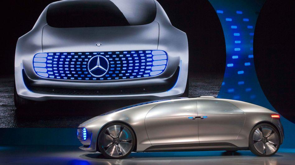 Mercedes Selbstfahr-Konzeptwagen F015: Die ersten Robotertaxi-Shuttles fallen vermutlich weniger schick aus