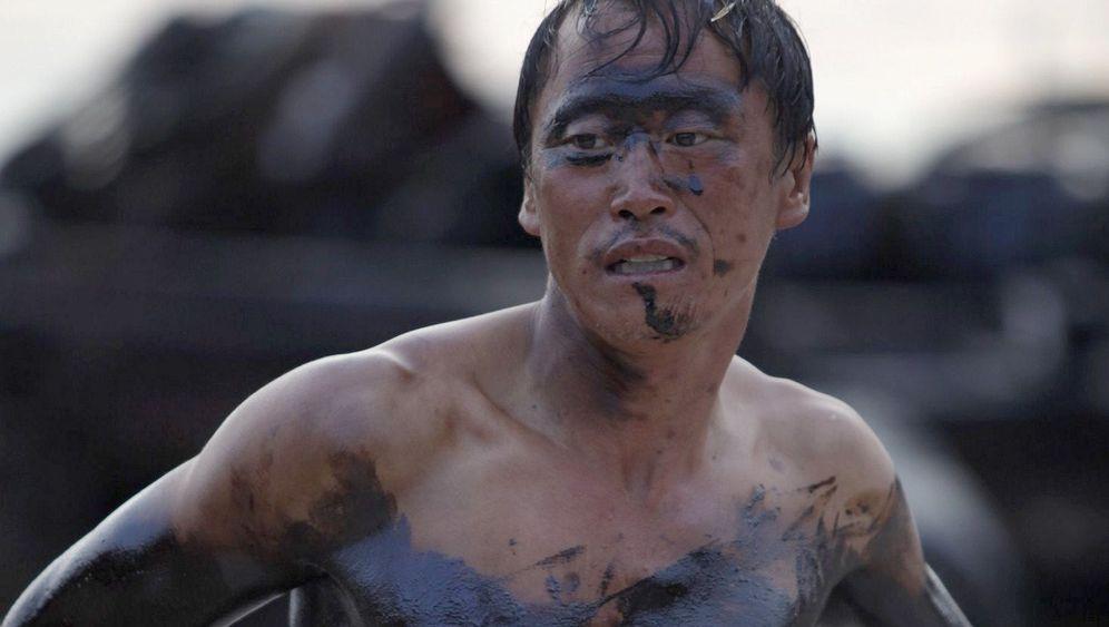 China: Ölpest in der Bucht von Dalian