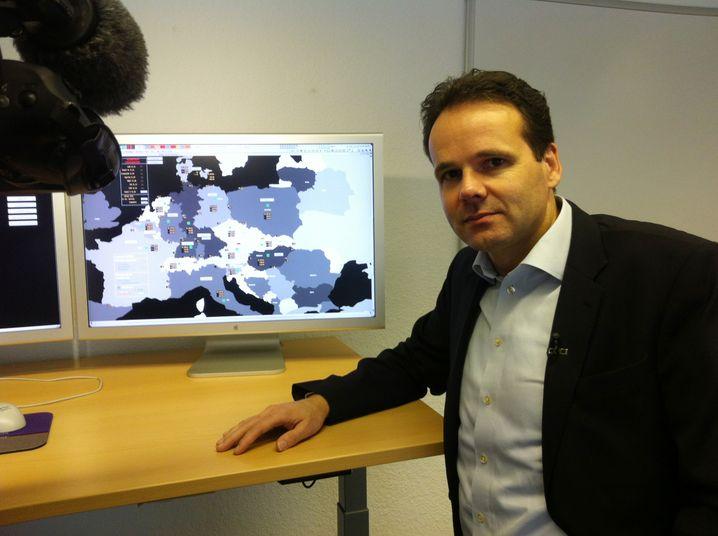 Noch ist er entspannt: Der Geschäftsführer des Stromnetzbetreibers Tennet, Urban Keussen