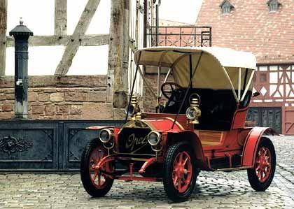"""Zielgruppe Ärzte: Opel """"Doktorwagen"""" (1909)"""