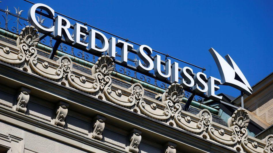 Credit-Suisse-Zentrale Zürich: Der neue Präsident Antonio Horta-Osorio baut das Geldhaus weiter um