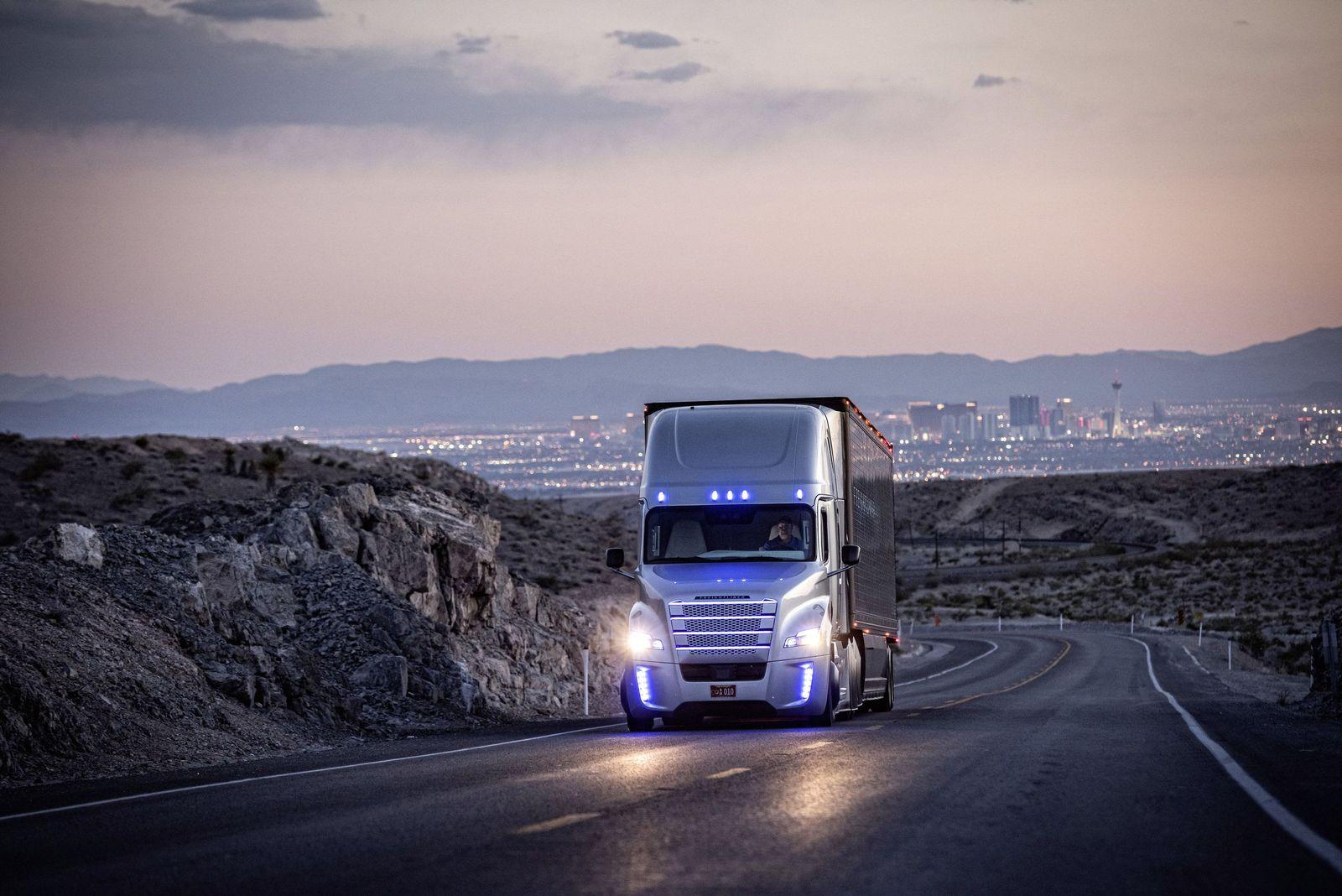 Selbstfahrenden Daimler-Truck