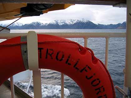 """An Bord der """"Trollfjord"""": Traditionslinie mit stoischer Ruhe"""
