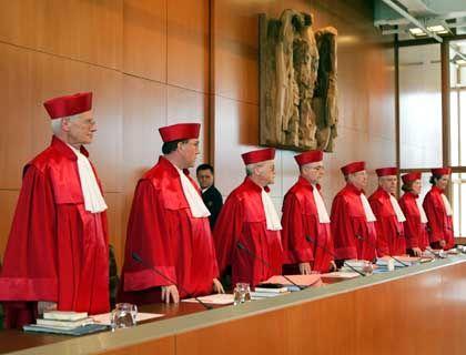 Zweiter Senat des Bundesverfassungsgerichts: Urteil um 10 Uhr