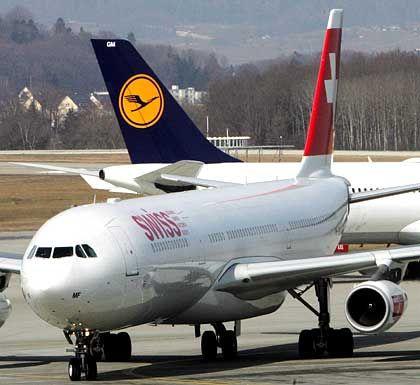 Expansion: Die Schweizer Swiss hat sich Lufthansa bereits gesichert. Doch bei Iberia dürften British Airways oder KLM zum Zuge kommen
