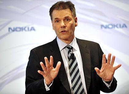 Will Apple den Schneid abkaufen: Nokia-Chef Kallasvuo