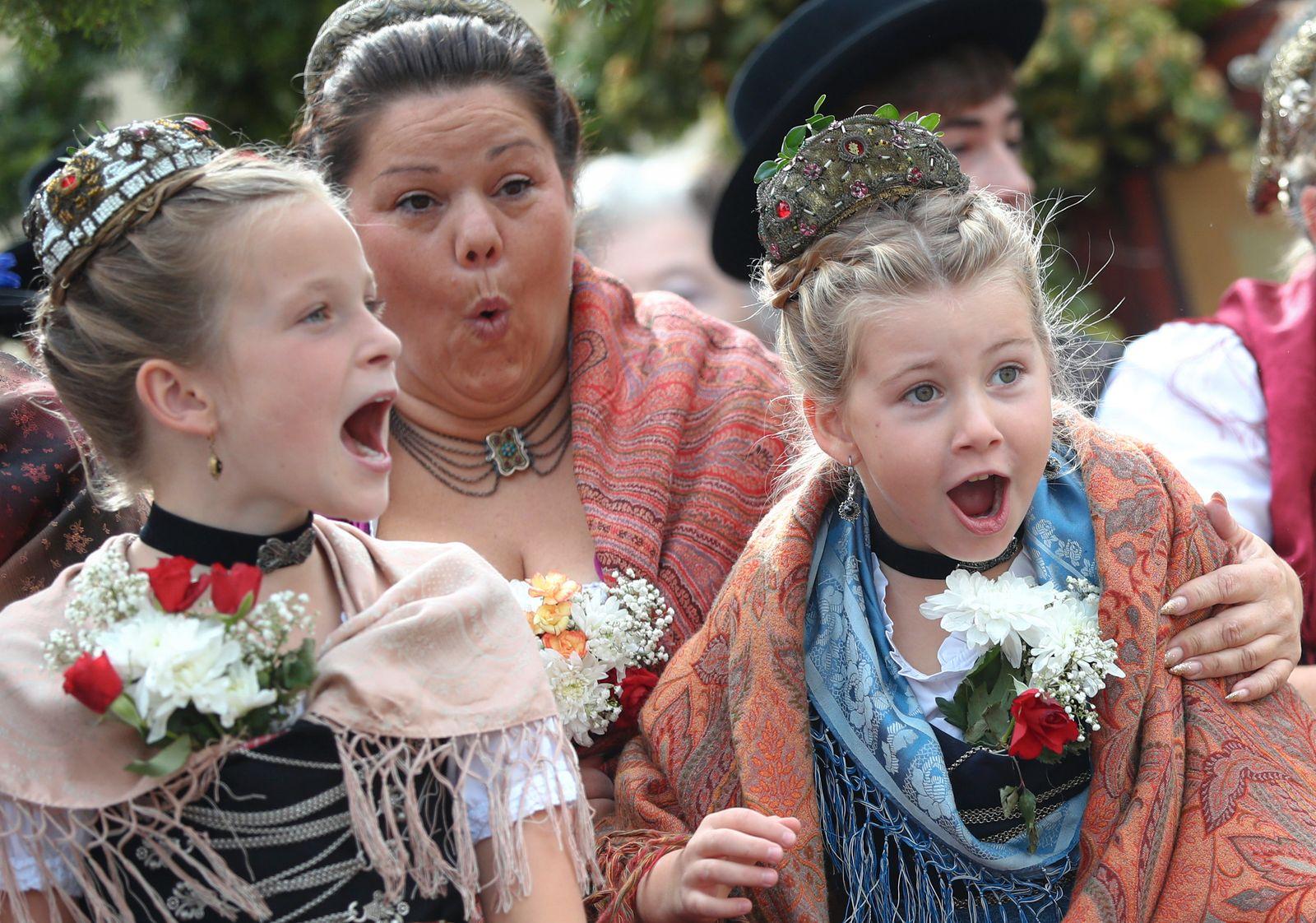 APTOPIX Germany Oktoberfest Parade
