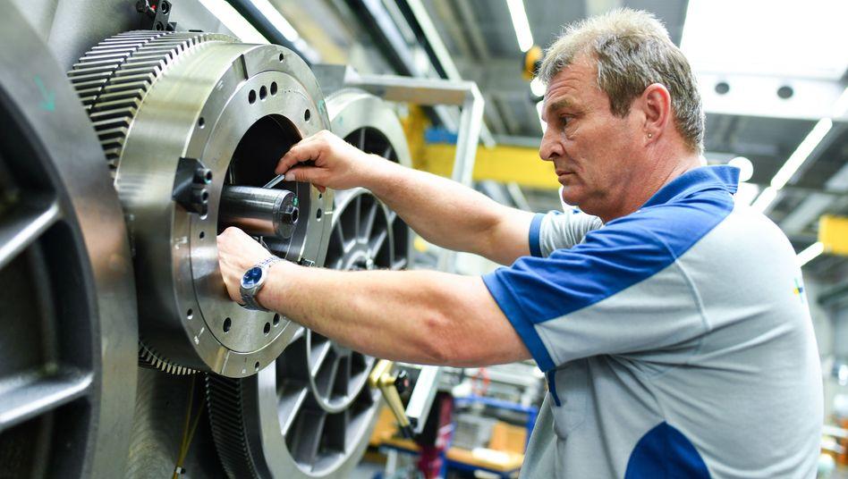 Maschinenbau: Viele mittelständische Betriebe haben es zunehmend schwerer - im Vergleich unter 21 Staaten ist Deutschland auf Platz 17 zurückgefallen