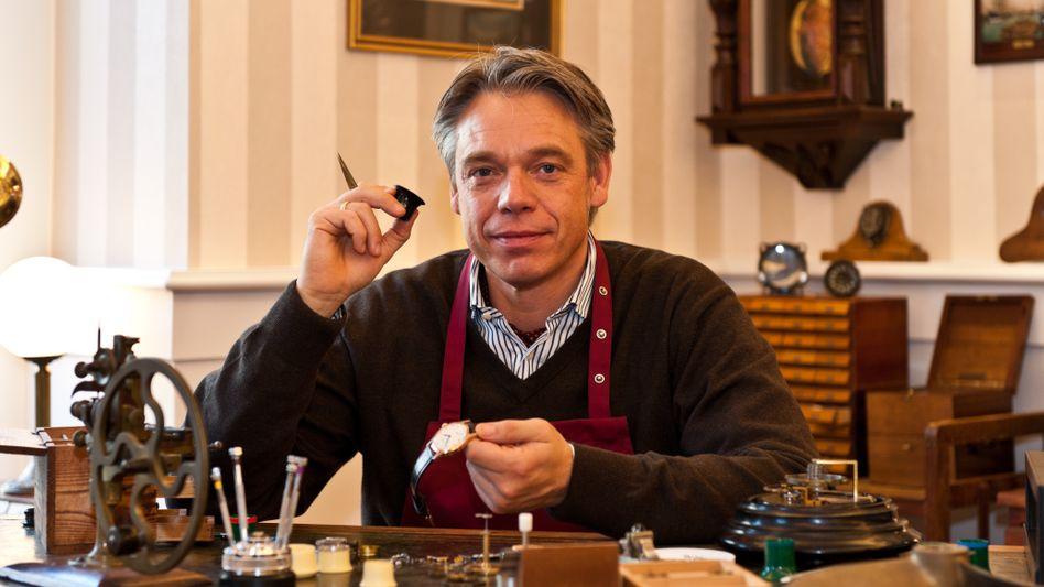 Andreas Hentschel: Uhrmacher aus Hamburg von der Uhrenmanufaktur Hentschel