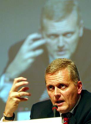 Vom UMTS-Erfolg überzeugt: Telekom-Chef Ricke