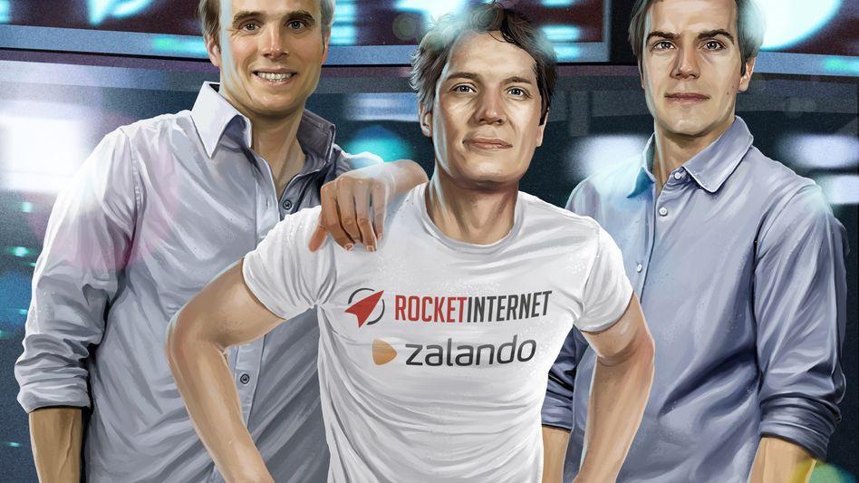 Deutschlands agilste Internet-Unternehmer: Marc, Oliver und Alexander Samwer