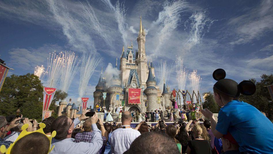 Walt-Disney-World-Themenpark in Orlando, Florida