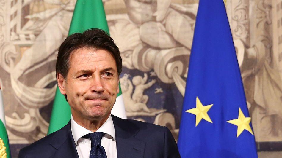 Regierungsauftrag: Giuseppe Conte soll die Koalition aus Lega und Fünf Sternen als Regierungschef führen