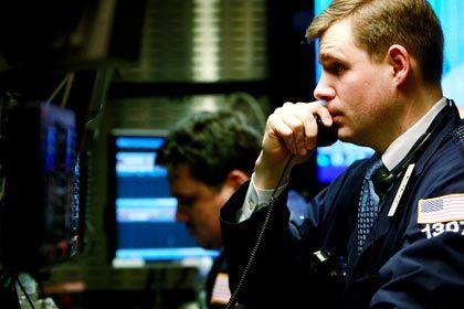 Bad News: An der Wall Street gaben die Aktienkurse kräftig nach