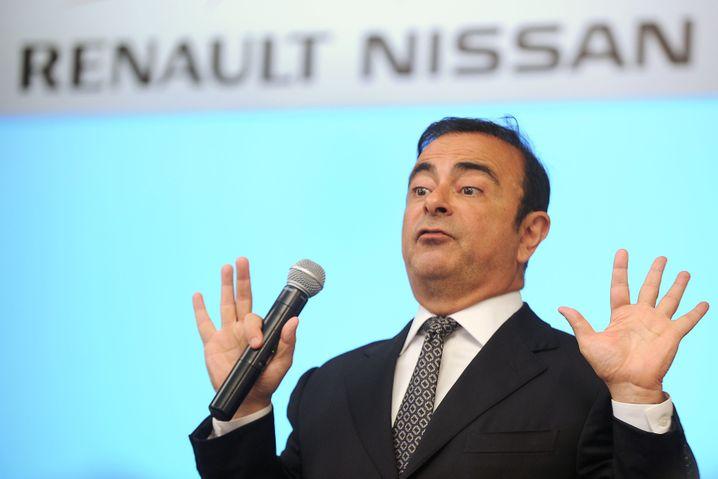 Sitz in Japan in Haft: Carlos Ghosn, ehemals Chef von Nissan und Renault