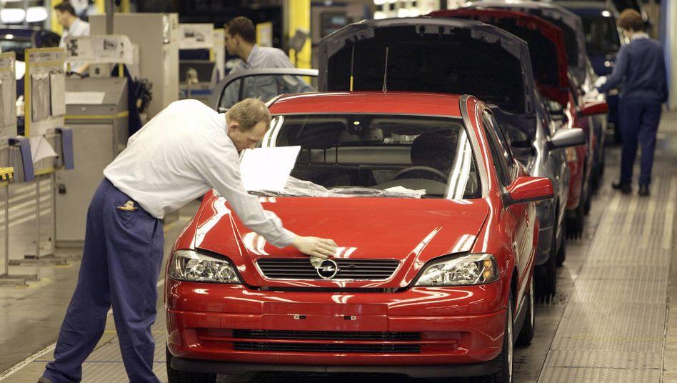 Noch wird der Opel Astra im polnischen Gliwice produziert (Bild Archiv). Ab 2021 das neue Modell in Rüsselsheim vom Band laufen