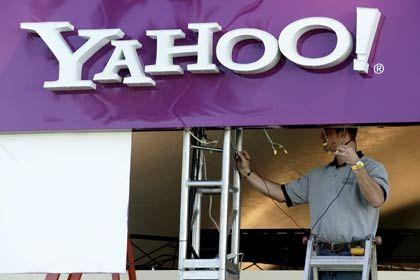 Fortwährende Bauarbeiten: Yahoo leidet unter dem Wettbewerb mit Google