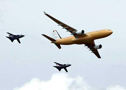 Streit um Preisnachlass beigelegt: Airbus Tankflugzeuge