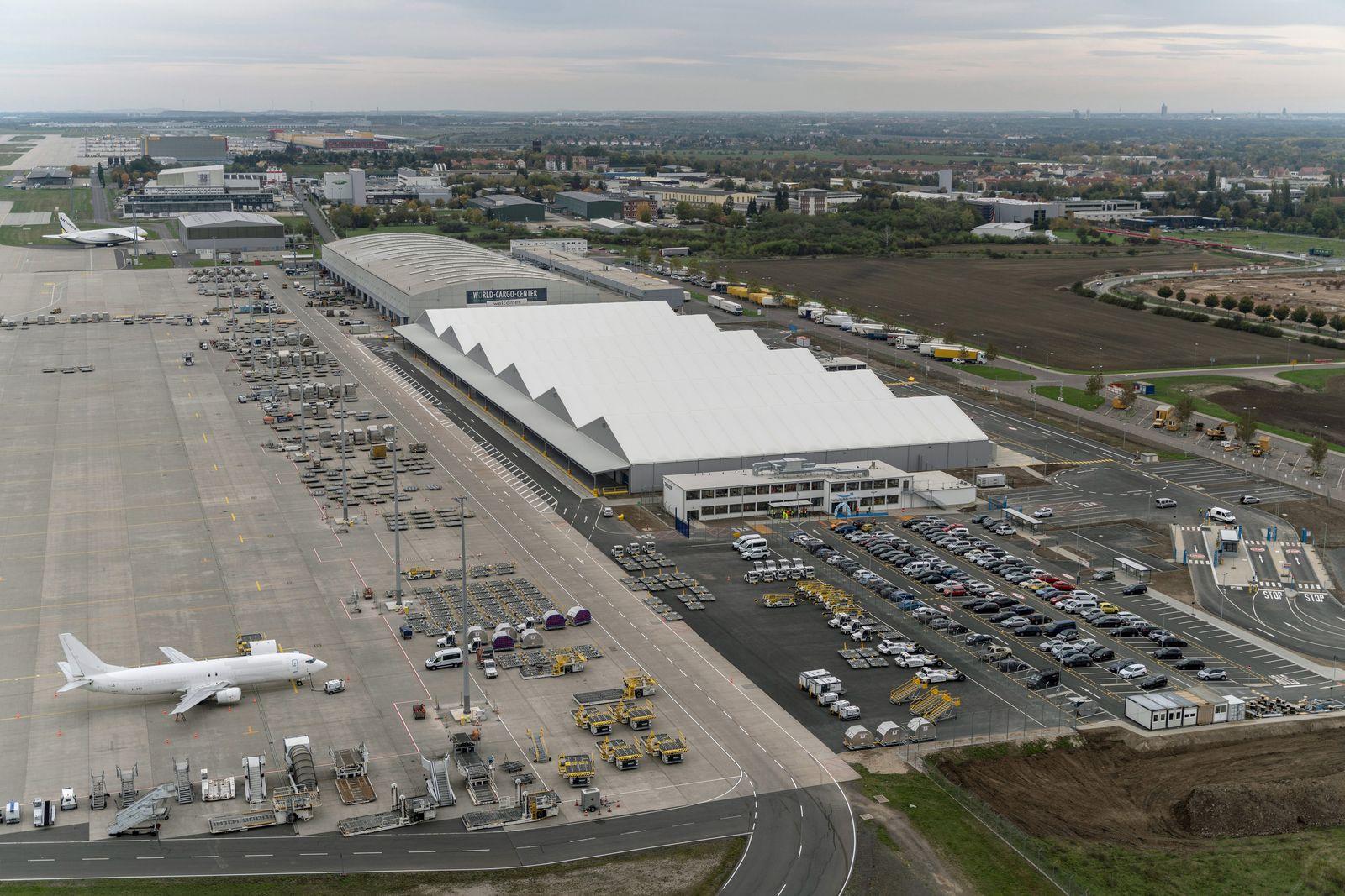 Amazon-Luftfrachtzentrum in Sachsen