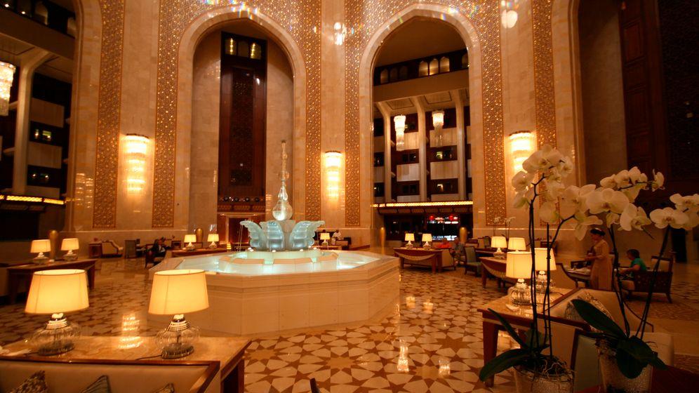 Oman: Das Luxushotel des Sultans