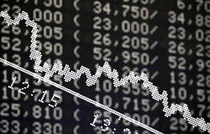 Nervöser Dax: Der deutsche Leitindex startet am Dienstag schwach, kann sich im Handelsverlauf allerdings wieder fangen und notiert am Vormittag leicht im Plus.