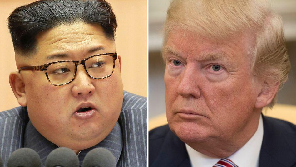 """Trump, Kim Jong Un: """"Treffen zum jetzigen Zeitpunkt unangemessen"""""""
